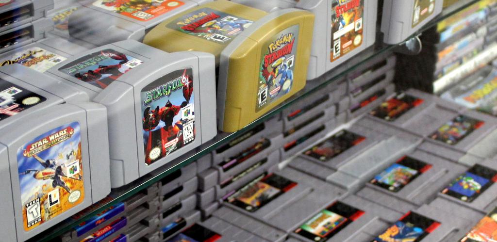 Retro Video Games for Sale Las Vegas